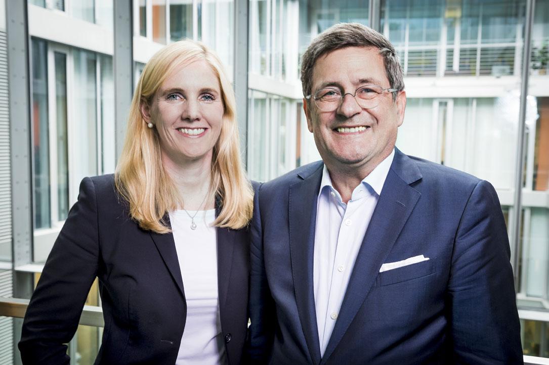 Jennifer Lachmann und Roland Tichy