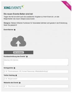event-detaileingabe