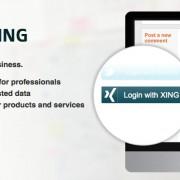 Plug-In Generator für das Login mit XING