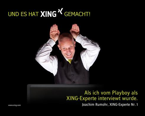 XING Moment von Joachim Rumohr