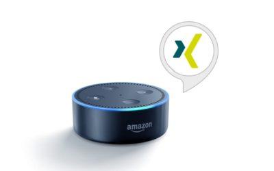 """Alexa, öffne XING"" – XING entwickelt Alexa Skill"