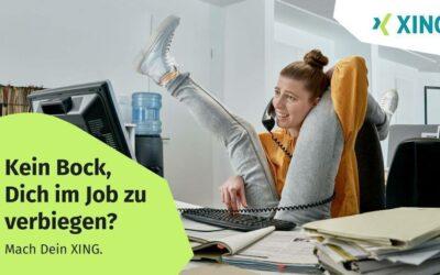 Neue XING Kampagne ermutigt zu mehr Entfaltung im Jobleben