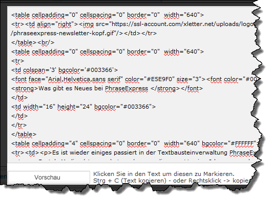 xletter-code-generieren